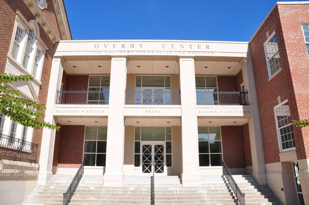 The Overby Center is housed in Farley Hall.