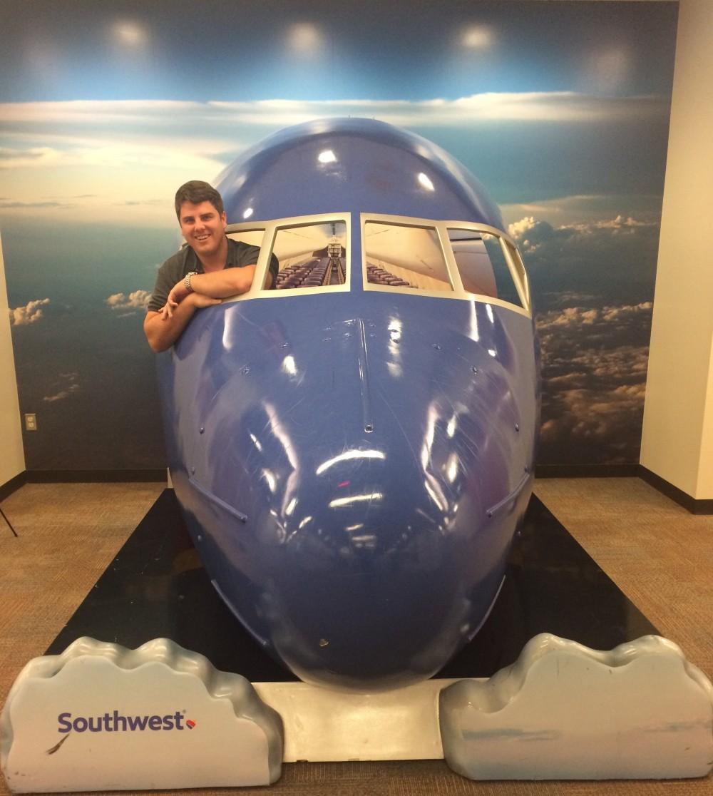 Stuart Johnson.Plane