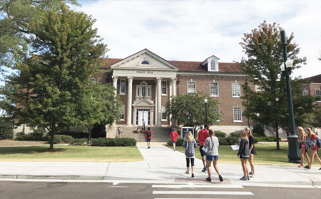Welcome back to the University of Mississippi School of Journalism and New Media