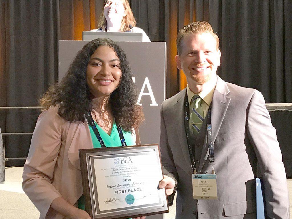 UM journalism students win Broadcast Education Association, Associated Press and SPJ awards