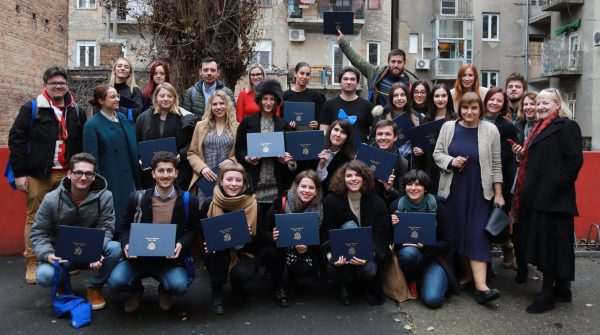 Graduates of Zagreb, Croatia workshop