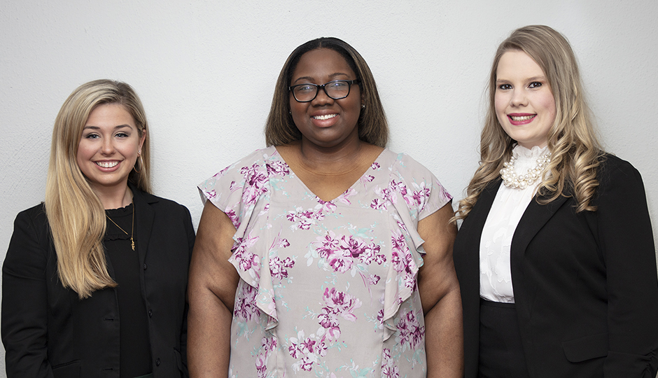 School of Journalism and New Media names three nominees for PRAM's outstanding PR student