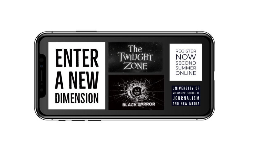 Registration is underway for J361 'Black Mirror, The Twilight Zone and Media' summer class