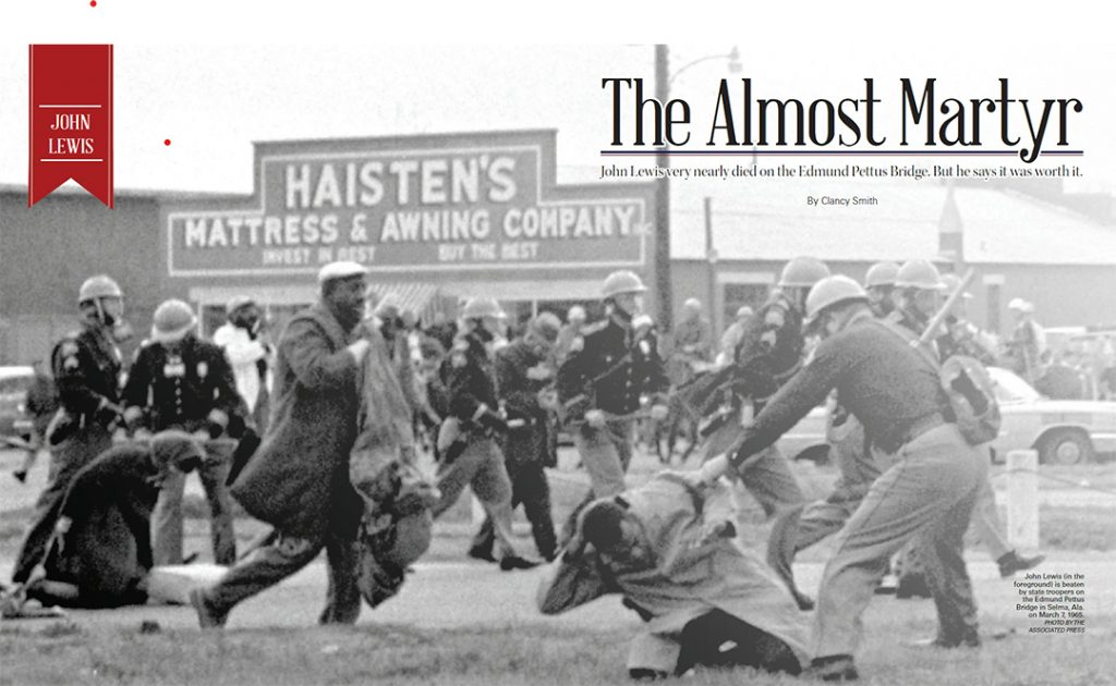 The Almost Martyr: A tribute to Rep. John Lewis
