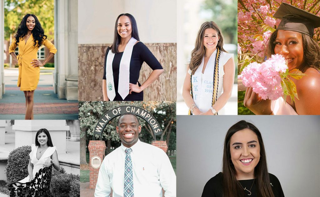 Students awarded UM Graduate Recruiting Fellowship and Scholarship in the Excellence in Inclusivity