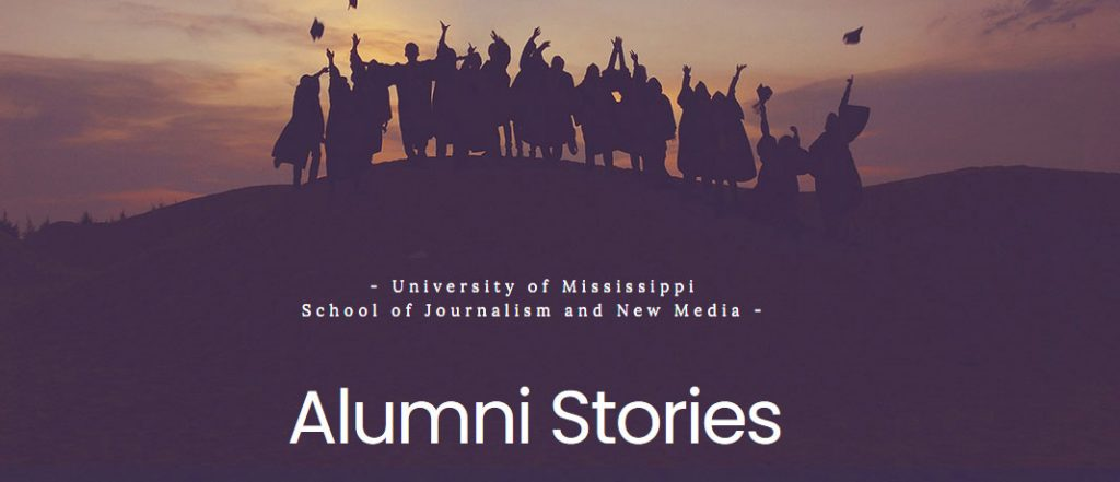 Read our Alumni Stories and submit your own