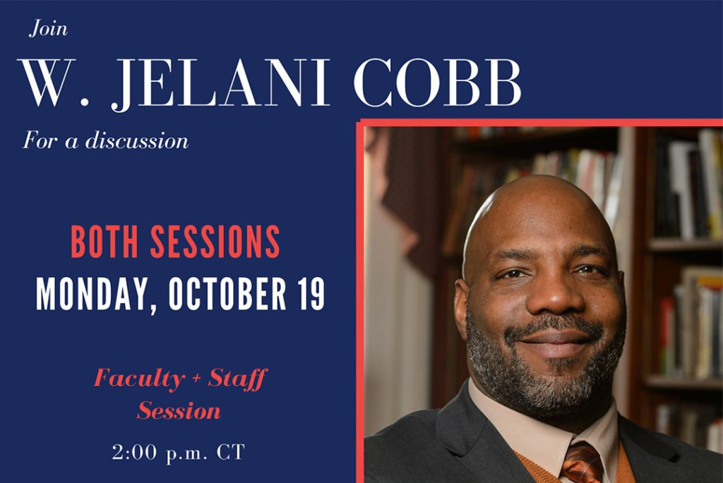 UM School of Journalism and New Media partners with Center for the Study of Southern Culture to welcome Jelani Cobb Oct. 19