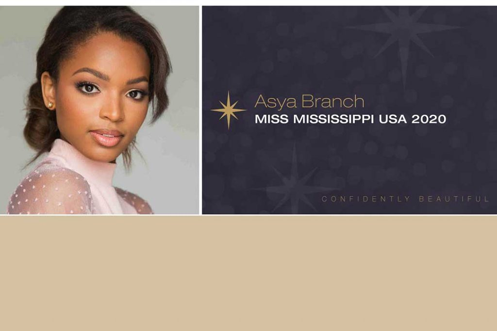University of Mississippi School of Journalism and New Media IMC student Asya Branch crowned Miss USA