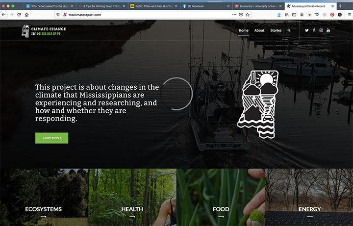 Climate Change Website