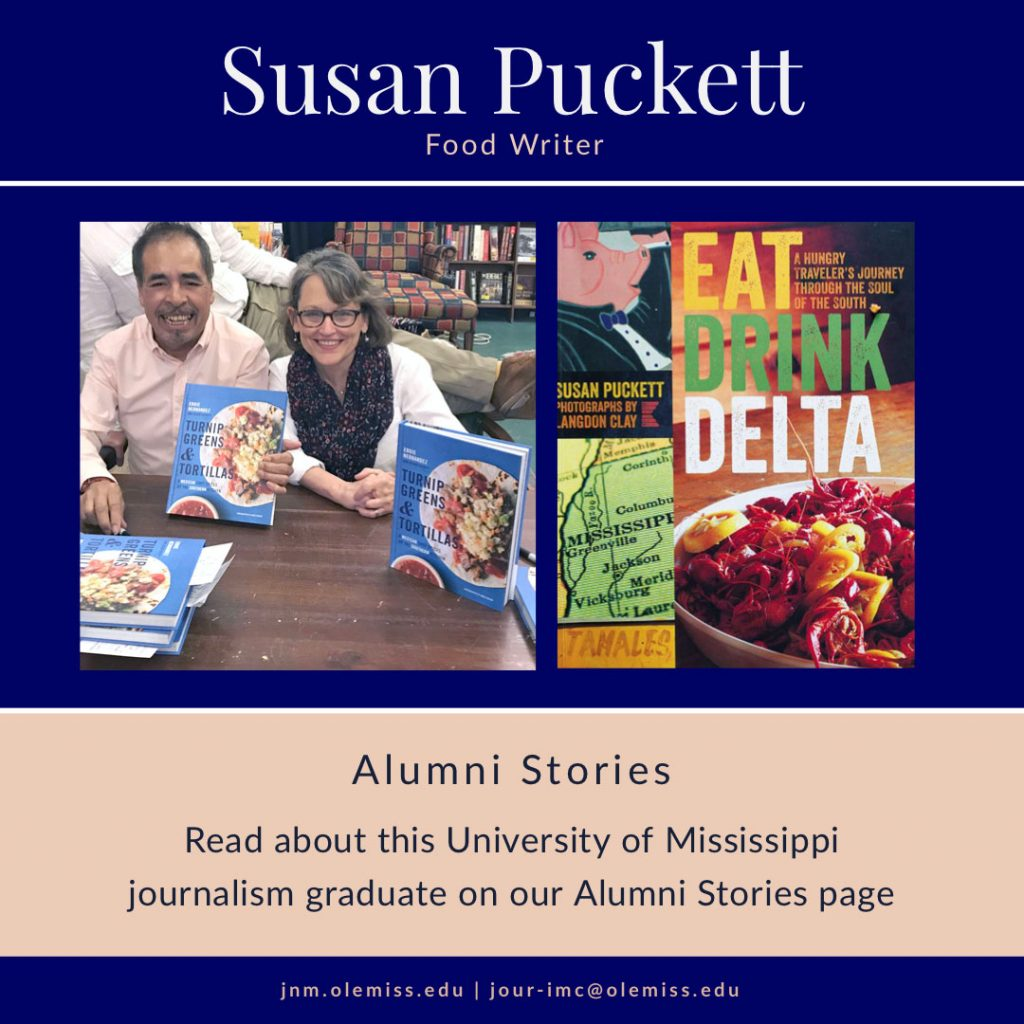Susan Puckett: Food Writer, Alumni Stories, Read about this University of Mississippi graduate on our Alumni Stories page