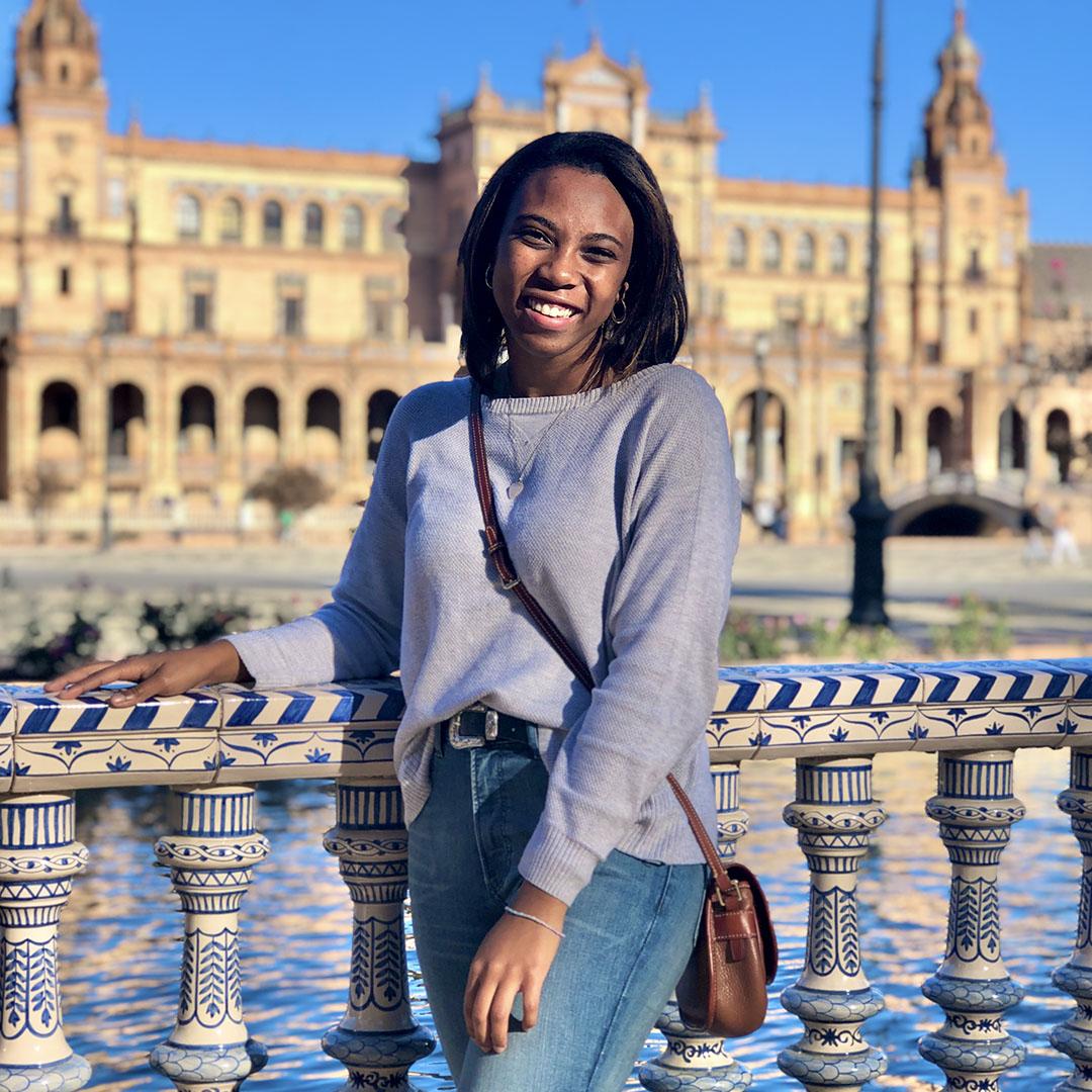 Asia Harden in Granada, Spain