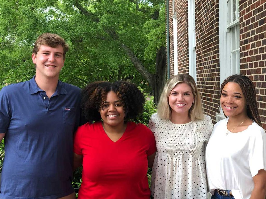 A University of Mississippi School of Journalism and New Media IMC team recently won second place in the District 7 American Advertising Federation National Student Advertising Competition.