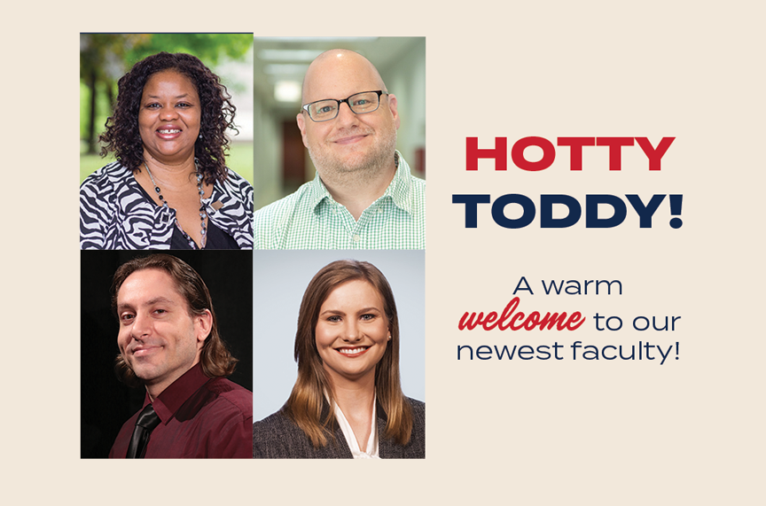 University of Mississippi School of Journalism and New Media welcomes four new professors