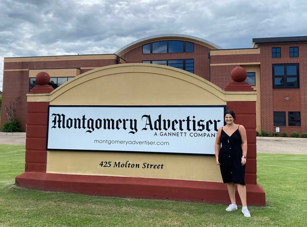 Hitson Reports for America on the rural South for the Montgomery Advertiser