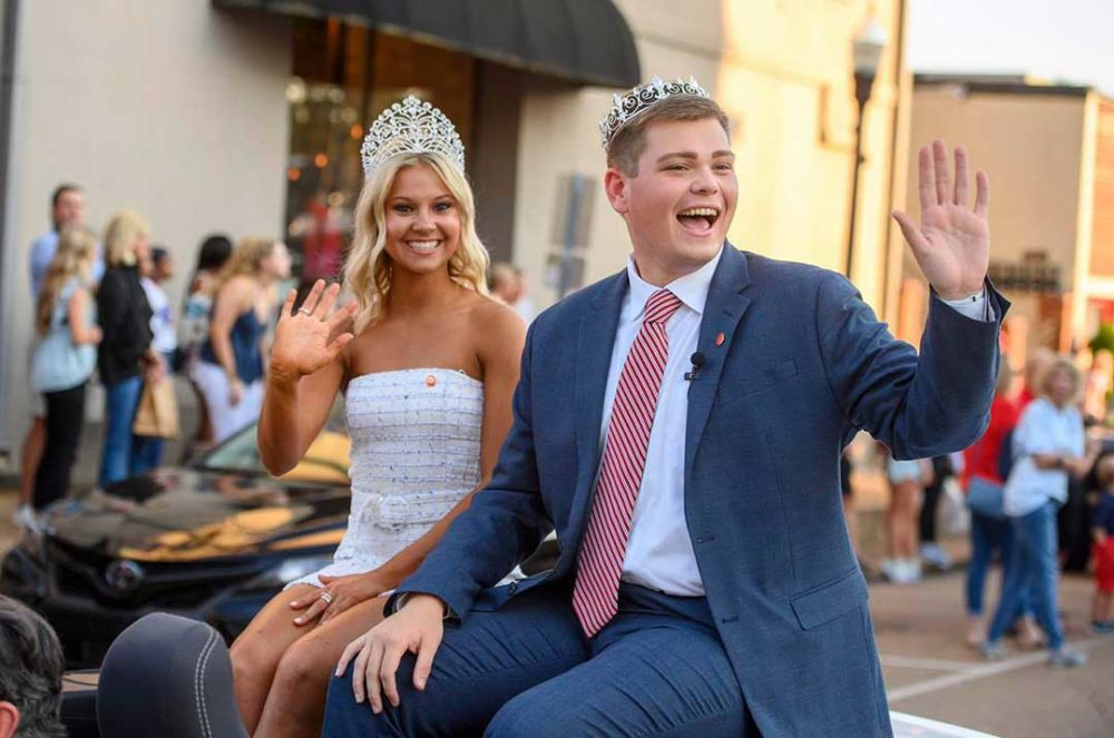 UM's 2021 Homecoming King and Queen have studied journalism and IMC